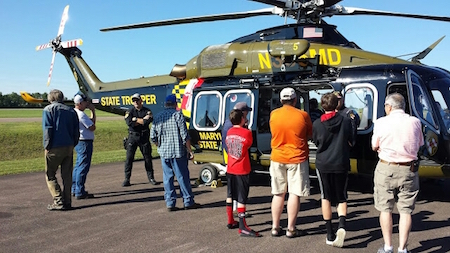 Md Chopper at Grrett County Wings & wheels