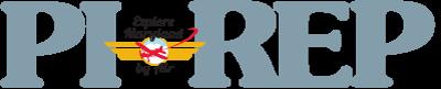 PIREP News Masthead logo