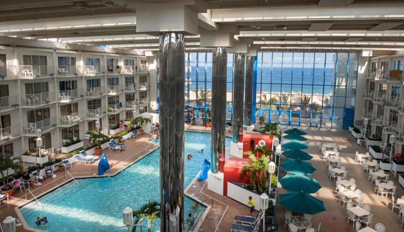 Pool area at Princess Hotel